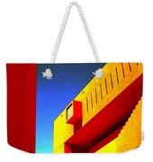 Library On A Clear Day Weekender Tote Bag