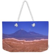 Licancabur Volcano Seen From The Atacama Desert Chile Weekender Tote Bag