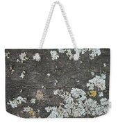 Lichen On Wood Weekender Tote Bag