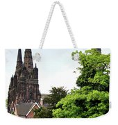 Lichfield Cathedral From Minster Pool Weekender Tote Bag