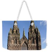 Lichfield Cathedral Weekender Tote Bag