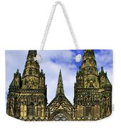 Lichfield Cathedral - The West Front Weekender Tote Bag