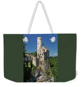 Lichtenstein Castle Weekender Tote Bag by Yair Karelic