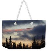 Licorice In The Sky Weekender Tote Bag