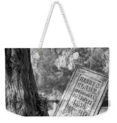 Life After Death Weekender Tote Bag