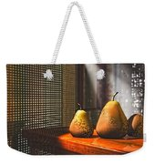 Life As A Pear Weekender Tote Bag