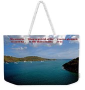 Life Changes Weekender Tote Bag