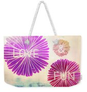 Life Goals Weekender Tote Bag by JAMART Photography