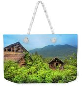 Life In A Mountains Weekender Tote Bag