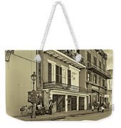 Life In The Quarter - Antique Sepia Weekender Tote Bag