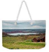 Life In Wyoming Weekender Tote Bag