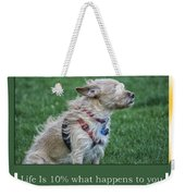 Life Is A Warm Summers Breeze Weekender Tote Bag