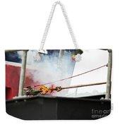 Lifeboat Chocks Away  Weekender Tote Bag by Terri Waters