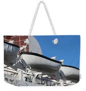 Lifeboat On Queen Mary Weekender Tote Bag