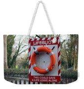 Lifebuoy Theft Weekender Tote Bag