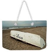 Lifeguard Boat Ocean City, Nj Weekender Tote Bag