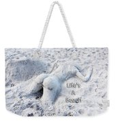 Life's A Beach By Sharon Cummings Weekender Tote Bag