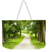 Life's Path Weekender Tote Bag