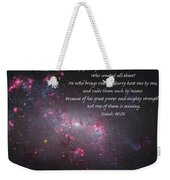 Lift Your Eyes Weekender Tote Bag