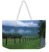 Lifting Fog In Cades Cove Weekender Tote Bag