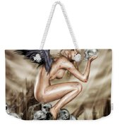 Lifting The Veil Weekender Tote Bag by Pete Tapang
