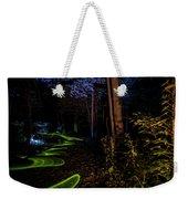 Lighit Painted Forest Scene Weekender Tote Bag