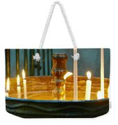 Light A Candle Weekender Tote Bag