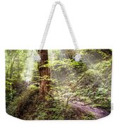 Light Along The Trail Weekender Tote Bag
