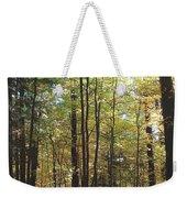 Light Among The Trees Vertical Weekender Tote Bag
