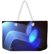 ''light And Blue Disc No.116'', Fri--18sep2015 Weekender Tote Bag