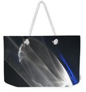 Light And Blue Disc No.88, Mon--14sep2015 Weekender Tote Bag