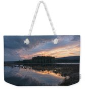 Light And Dark Weekender Tote Bag