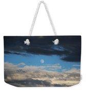 Light And Dark Moon  Weekender Tote Bag
