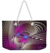 Light And Lines Weekender Tote Bag