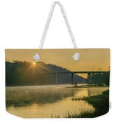 Light And Mist Weekender Tote Bag