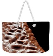 Light And Shadow In Mud Weekender Tote Bag