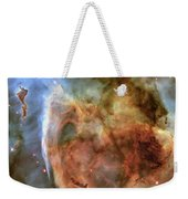 Light And Shadow In The Carina Nebula Weekender Tote Bag