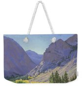 Light At Parker Lake Weekender Tote Bag