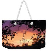Light At The End Of The Storm  Weekender Tote Bag