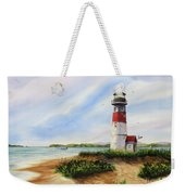 Light At The Inlet Weekender Tote Bag