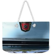 Light Blue Ford Pickup Weekender Tote Bag