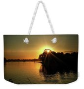 Light Break Through At Sundown Weekender Tote Bag