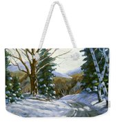 Light Breaks Through The Pines Weekender Tote Bag