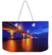 Light Bridge Weekender Tote Bag