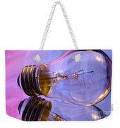 Light Bulb - Multi Color Weekender Tote Bag