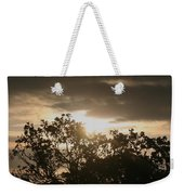 Light Chasing Away The Darkness Weekender Tote Bag