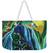 Light Dawns On A Floating World Weekender Tote Bag