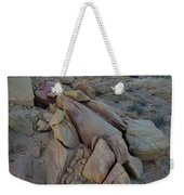 Light Fading On Valley Of Fire Weekender Tote Bag