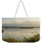 Light Falling Softly On The Marsh Weekender Tote Bag
