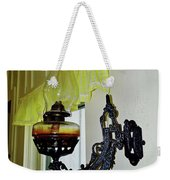 Light From The Past Weekender Tote Bag